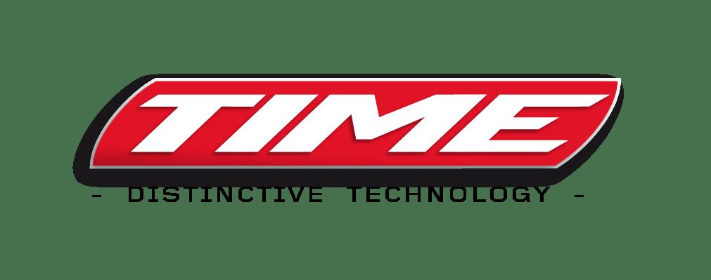Logo TIME - Distinctive Technology NOIR