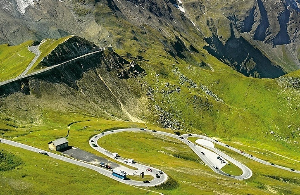 High Country Harley >> CapoVelo.com | Cycling the Großglockner in Austria