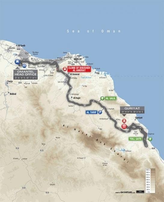 2016_tour_of_oman_stage_2_map_670