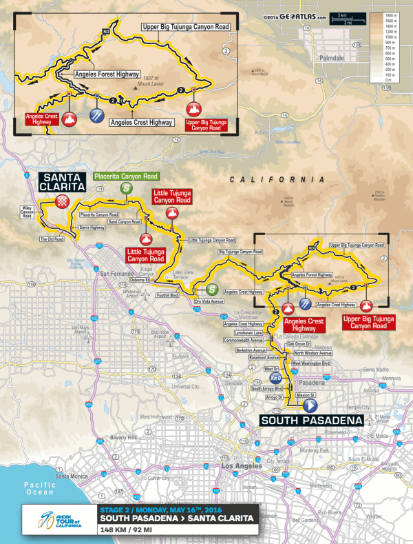 Amgen-Tour-of-California-2016-Stage-2-route-map