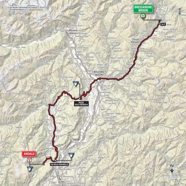 Giro-dItalia-2016-Stage-16-BressanoneBrixen-to-Andalo-route-map
