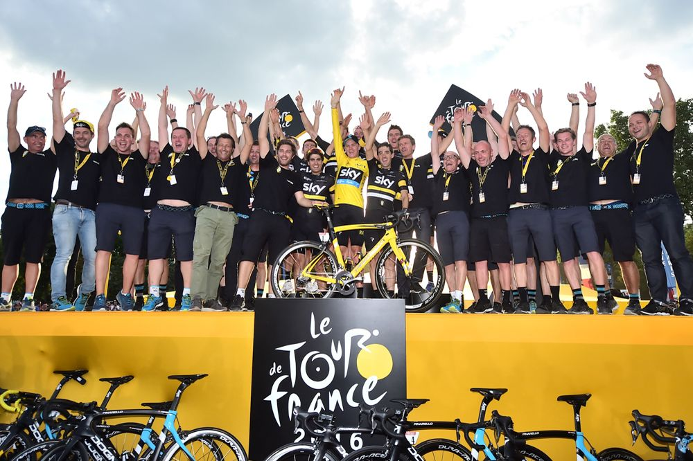 Tour de France 2016 - 24/07/2016 - Etape 21 - Chantilly / Paris Champs-Elysées (113 km) - TEAM SKY