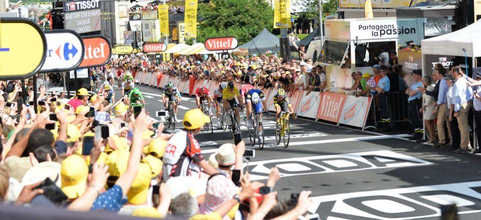 Tour de France 2016 - 05/07/2016 - Etape 4 - Saumur/ Limoges (237.5 km) - Arrivee au sprint