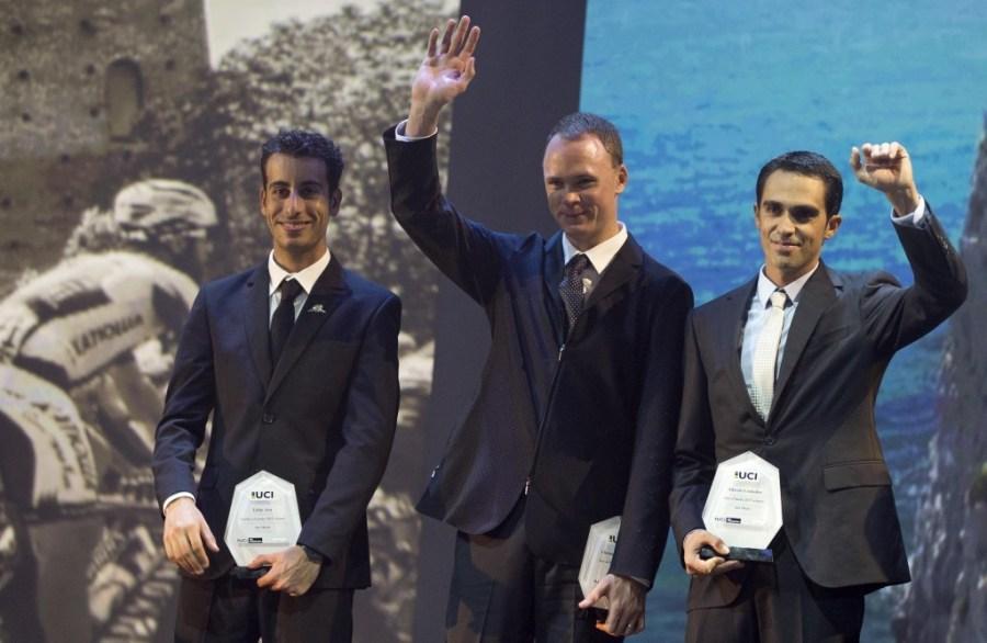 Froome Aru Contador