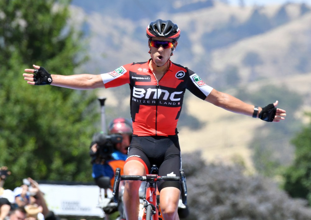 Richie Porte wins stage two of the 2017 Tour Down Under
