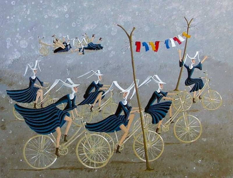 carole-beatrice-perret-paintings_urbancycling_2