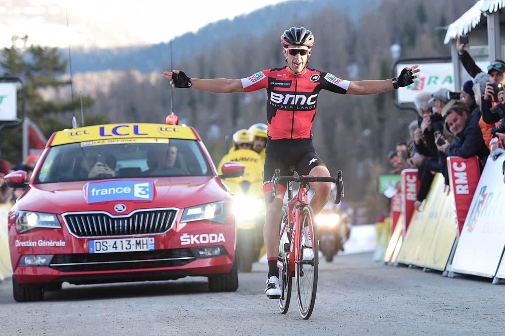 Paris-Nice 2017 - 11/03/2017 - Etape 7 - Nice / Col de la Couillole (177km) - Richie PORTE (BMC RACING TEAM) - Vainqueur de l'étape 7