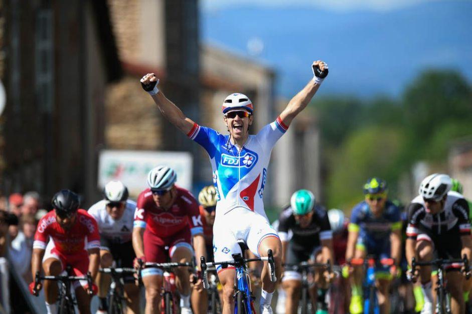Criterium du Dauphine 2017 - 05/06/2017 - Etape 2 - Saint-Chamond / Arlanc (171km) - DEMARE Arnaud (FDJ) - Vainqueur de l'étape 2