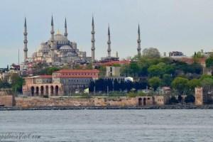 Голубая Мечеть - вид со стороны Мраморного моря