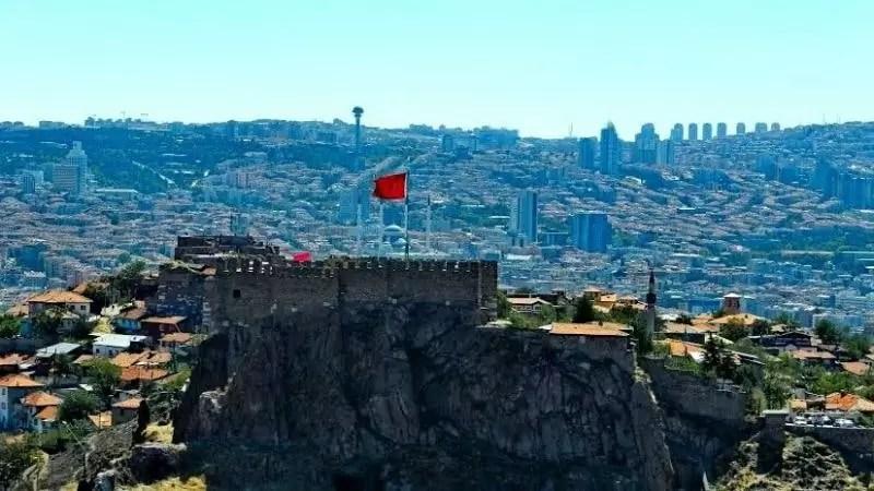 Крепость Анкары и вид на город