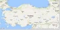 Отели на карте Турции - Карта Турции с отелями