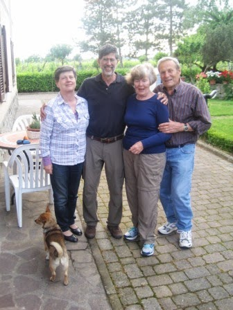 Chicco with an american guests from New York City