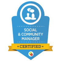 Social and Community Manager certified