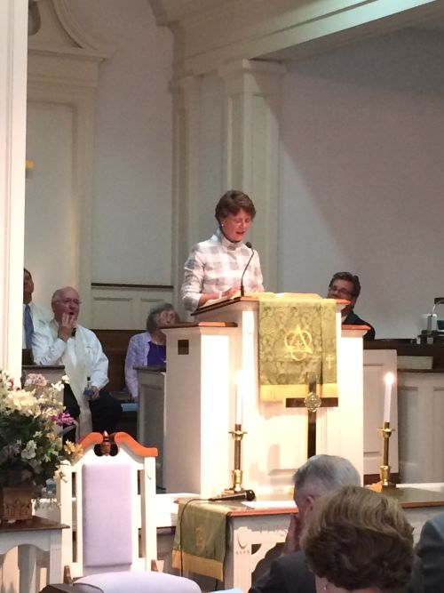 As Kathy Ligon, Ruling Elder, Bethesda Presbyterian Church, Camden, SC; President and C.E.O, Presbyterian Communities reflected on her 27 plus years of service to our communities, I could see glistening within her eyes from the sadness of these days, also the joys of this moment and the hopes yet to be realized.