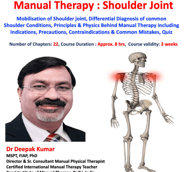 Manual Therapy Shoulder Joint