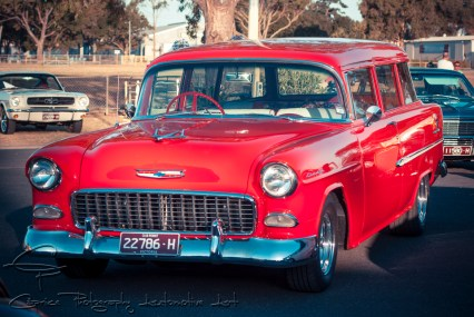Cool 55 Chevy!