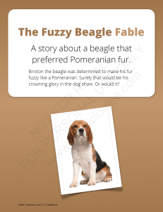 The Fuzzy Beagle Fable