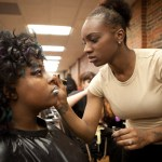 Makeup Application Before Competition