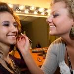 Makeup Application at the Capri Student Salon