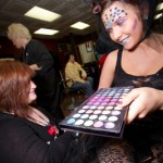 Colorful Makeup at Capri Competition
