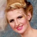 Wedding Makeup Closeup