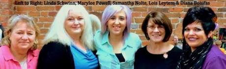 marylee powell samantha nolte and linda loie and diana