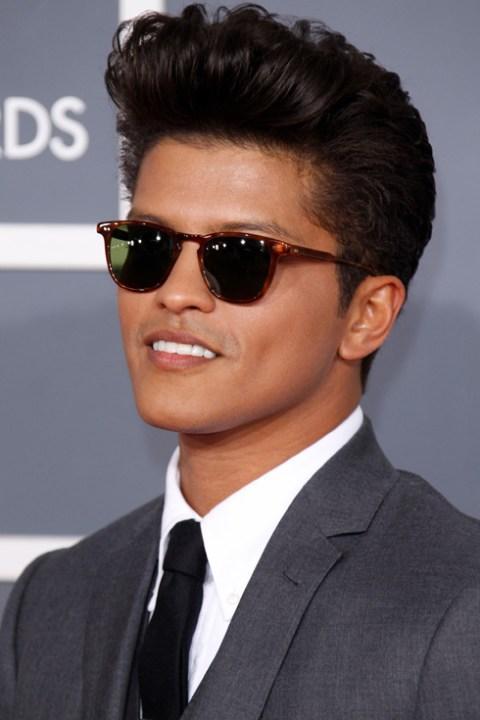 THE POMPADOUR Bruno Mars Amp 5 Other Men Who Rock It BLOG