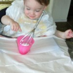Coloring Eggs with a Whisk