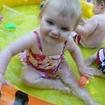 Baby Pool Fun