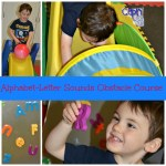 Alphabet Letter Sounds-Preschool Obstacle Course