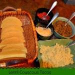 Lentil Couscous Tacos