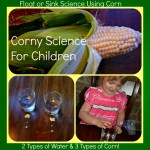 Corny Science:  Will it sink or float?