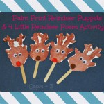 Palm Print Reindeer Craft and Poem