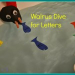 Walrus Dive for Letters