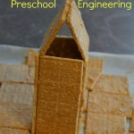 Graham Cracker Castles-Preschool Engineering