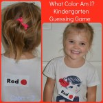 What Color Am I? Kindergarten Guessing Game