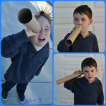 Exploring the Senses Using Cardboard Tubes