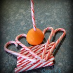 Make a Peppermint Stick Straw (and Sip Fresh Orange Juice!)