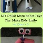 Dollar Store DIY Robot Toys