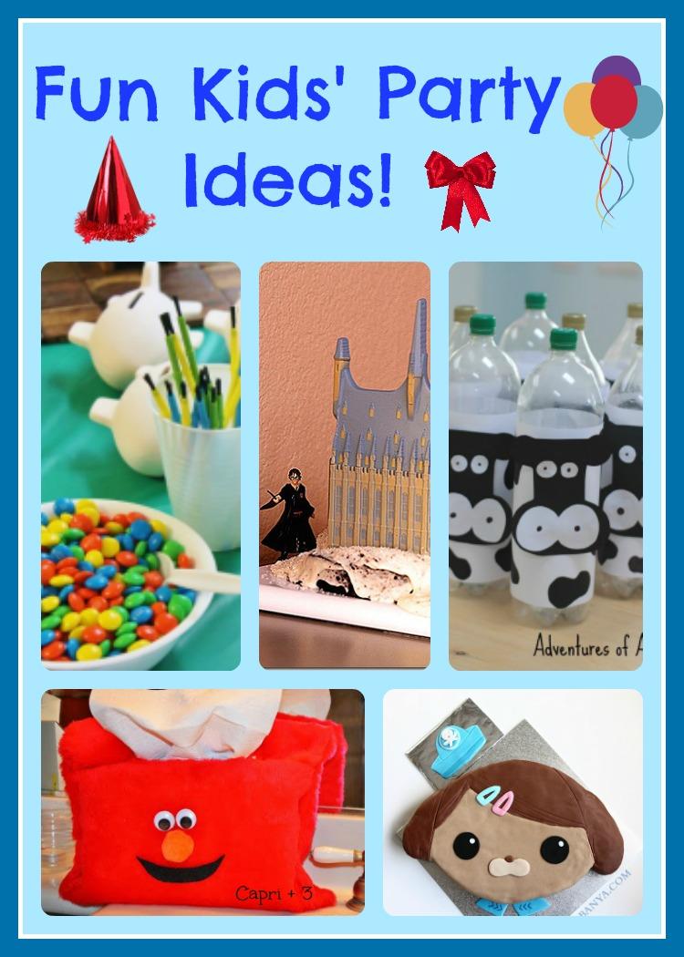 Fun Kids' Party Ideas