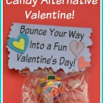 Bouncy Ball Candy Alternative Free Printable Valentine