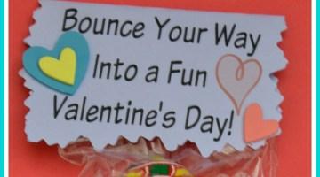Bouncy Ball Candy Alternative Free Printable Valentine