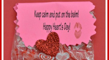 Keep calm and put on the balm Free Printable Valentine