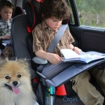 Travel Trays for Car seats and Strollers! Review and Giveaway