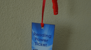 Reading Power Ticket-Making Reading With Your Kids A Priority At Home