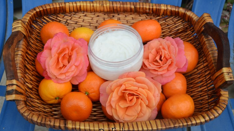 DIY-So Soft Coconut Citrus Sugar Scrub