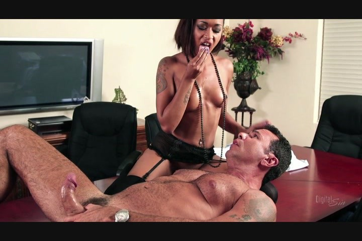 Gorgeous Black Girl Skin Diamond Fucks Older White Stud Steven St. Croix Starring: Steven St. Croix Skin Diamond