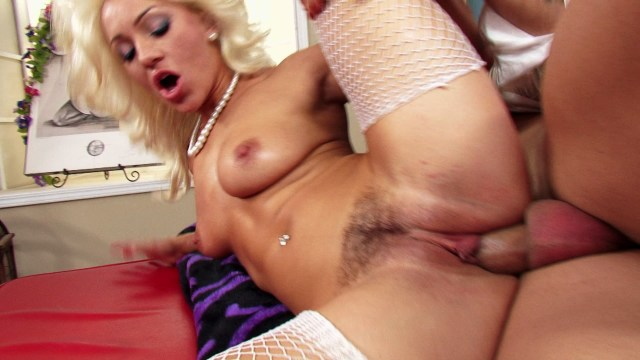 Sexy Chick in White Fishnets Cameron Dee Gets Her Pussy Licked and Fucked Starring: Cameron Dee Length: 18 min