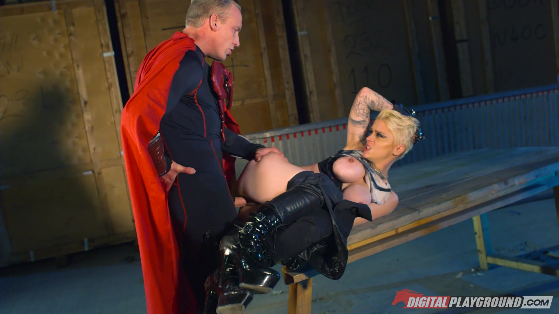 Sexy Super Hero Rina Ellis Gets Fucked In Her Super Pussy Length: 28 min