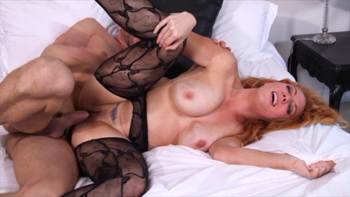 Busty Babe in Black Stockings Kiki Daire Gets Fucked by a Hung Stud Starring: Kiki Daire Length: 25 min